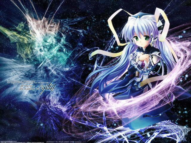 Planetarian: Chiisana Hoshi no Yume Anime Wallpaper #2
