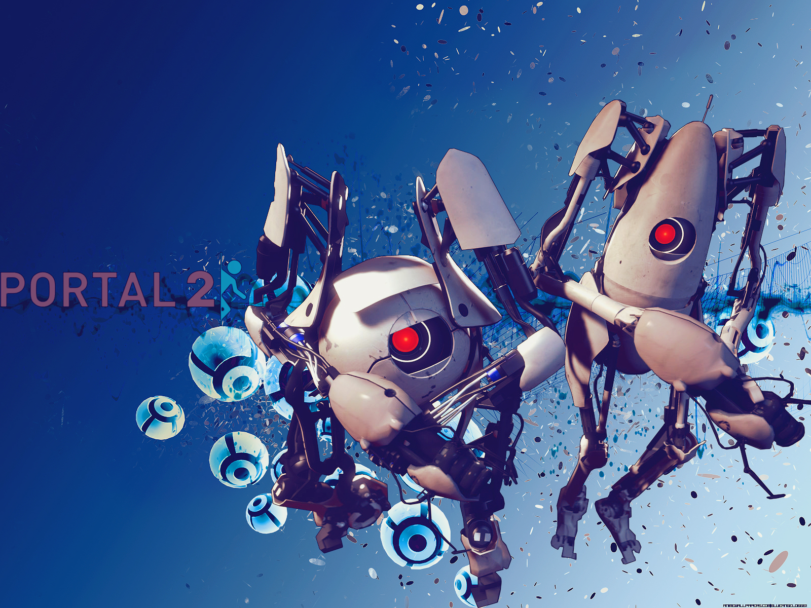 Portal Game Wallpaper # 1