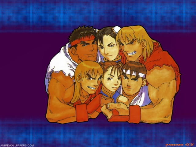 Street Fighter Anime Wallpaper #4
