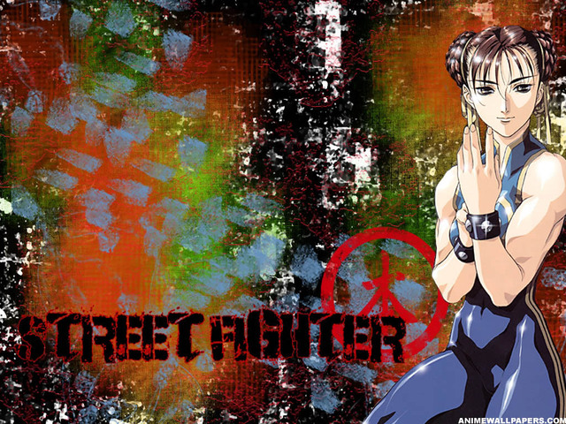 Street Fighter Anime Wallpaper #6