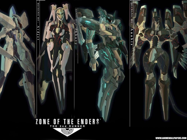 Zone of the Enders Anime Wallpaper #3