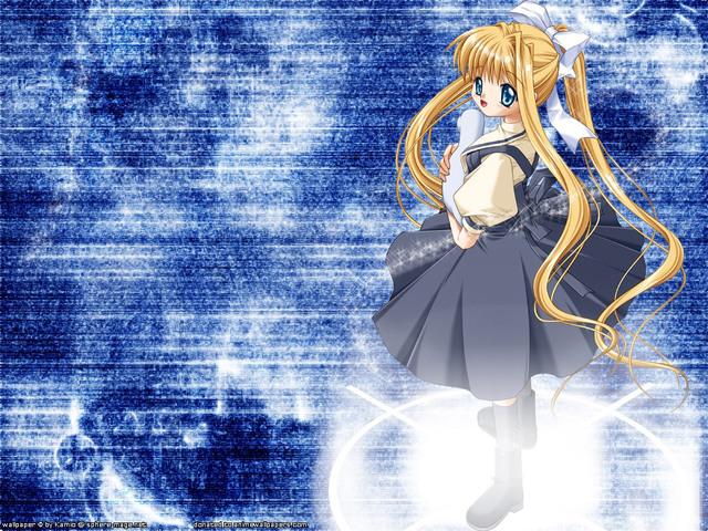 Air beautiful anime