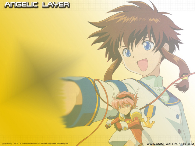 Angelic Layer Anime Wallpaper #2