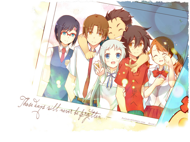 Ano Hana Anime Wallpaper #1