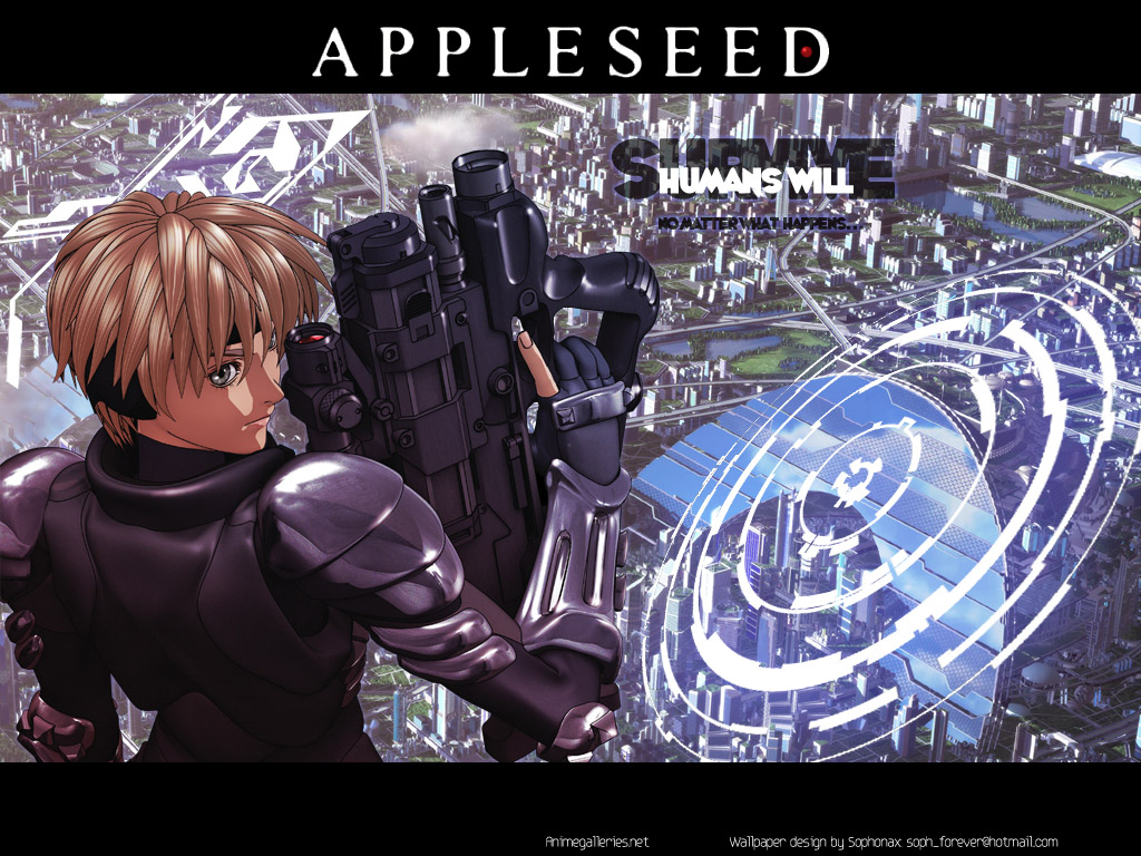 Appleseed Anime Wallpaper # 11