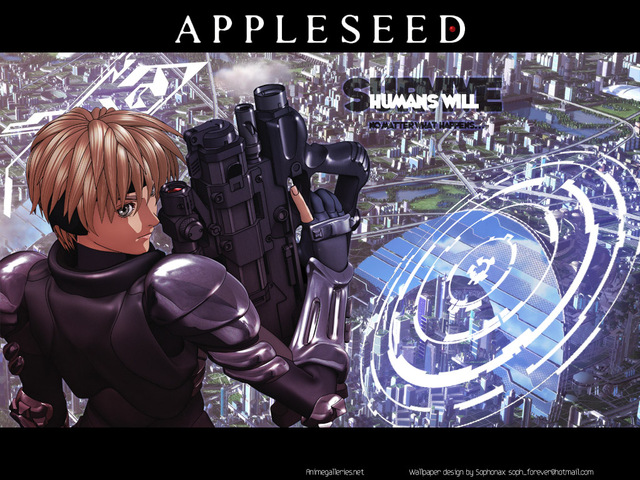 Appleseed Anime Wallpaper #11