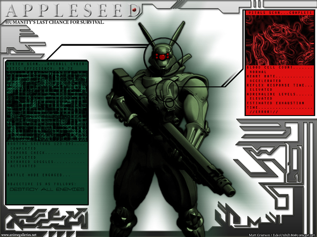 Appleseed Anime Wallpaper #13