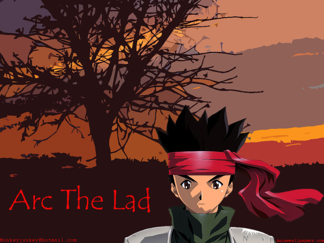 Arc the Lad Anime Wallpaper #1
