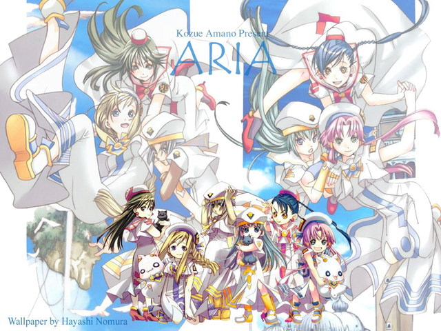 ARIA The Animation Anime Wallpaper #2