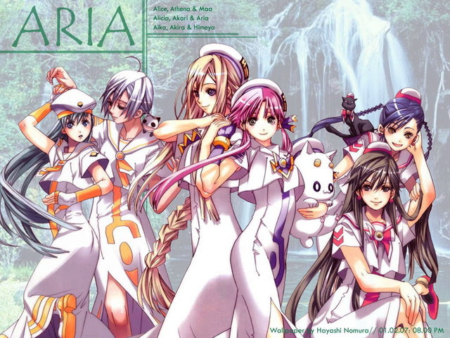 ARIA The Animation Anime Wallpaper #3