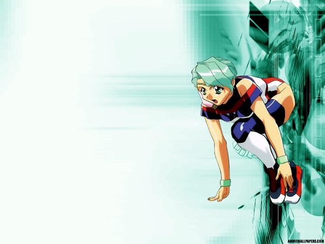 Battle Athletes Anime Wallpaper #10