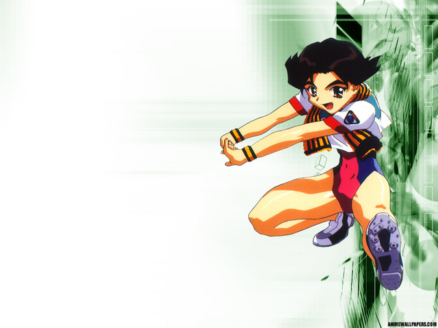 Battle Athletes Anime Wallpaper #2
