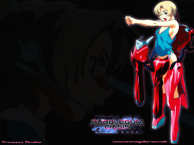 Bubblegum Crisis Anime Wallpaper #10