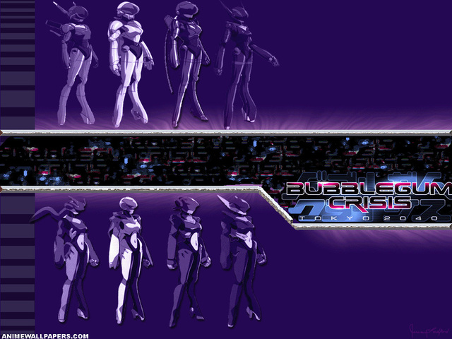 Bubblegum Crisis Anime Wallpaper #2