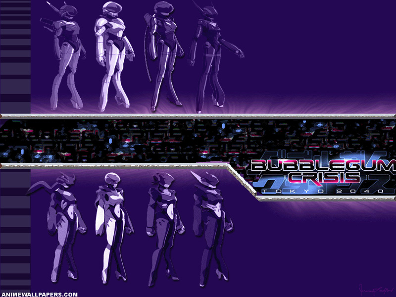 Bubblegum Crisis Anime Wallpaper # 2