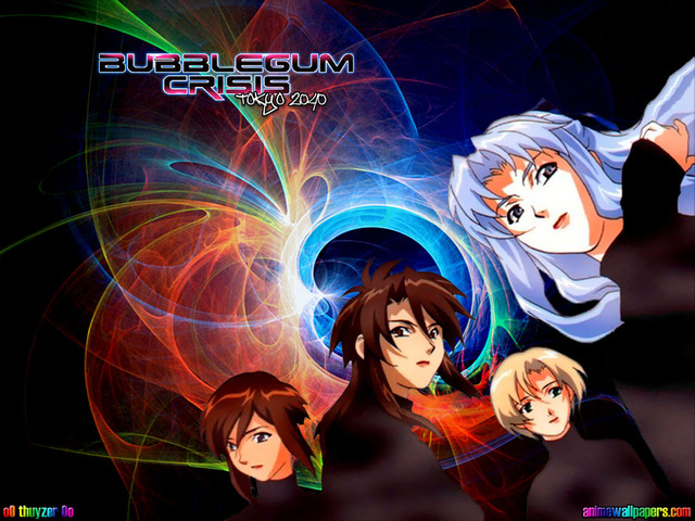 Bubblegum Crisis Anime Wallpaper #5