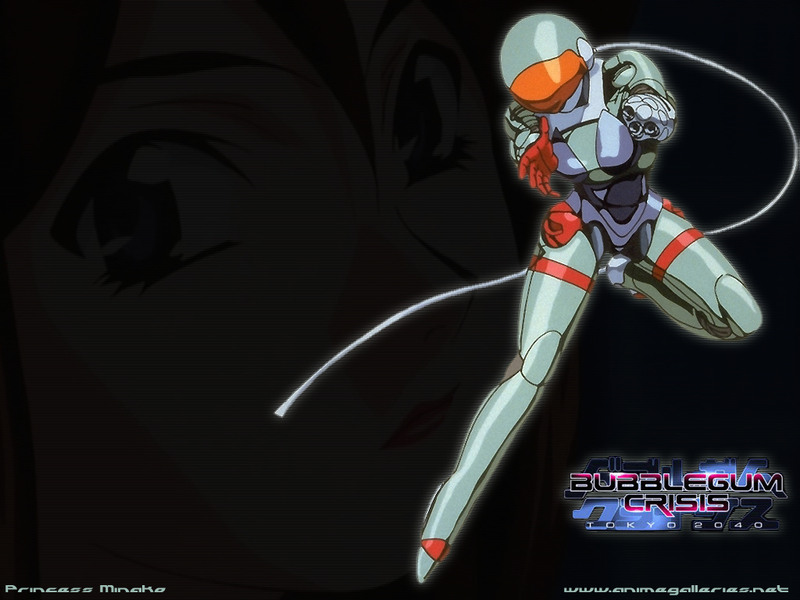 Bubblegum Crisis Anime Wallpaper # 9