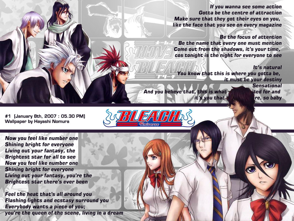 Bleach Anime Wallpaper # 7