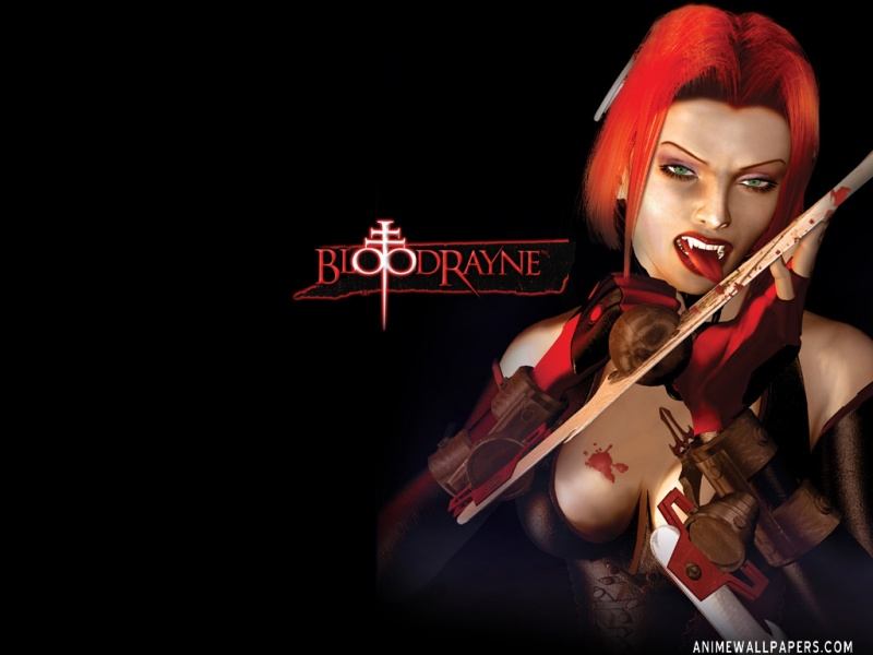 Bloodrayne Anime Wallpaper # 1