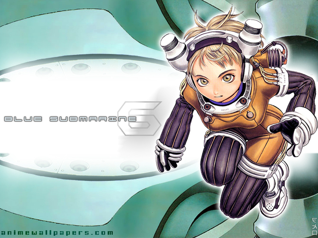 Blue Submarine Anime Wallpaper #5