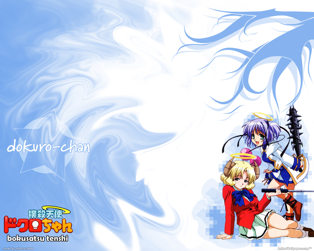 Bokusatsu Tenshi Dokuro-chan Anime Wallpaper #2