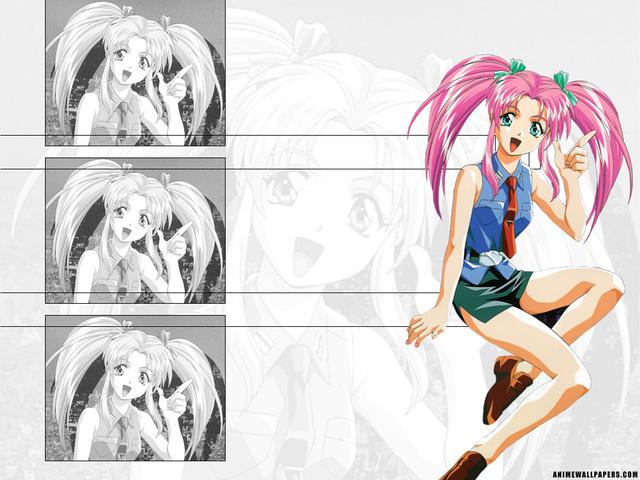 Burn Up W Anime Wallpaper #4