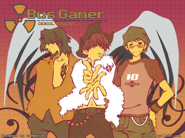 Bus Gamer Anime Wallpaper #1