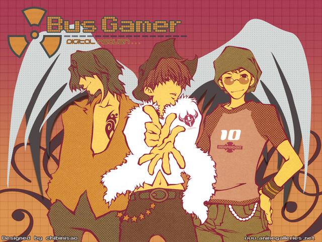 Bus Gamer Anime Wallpaper #1