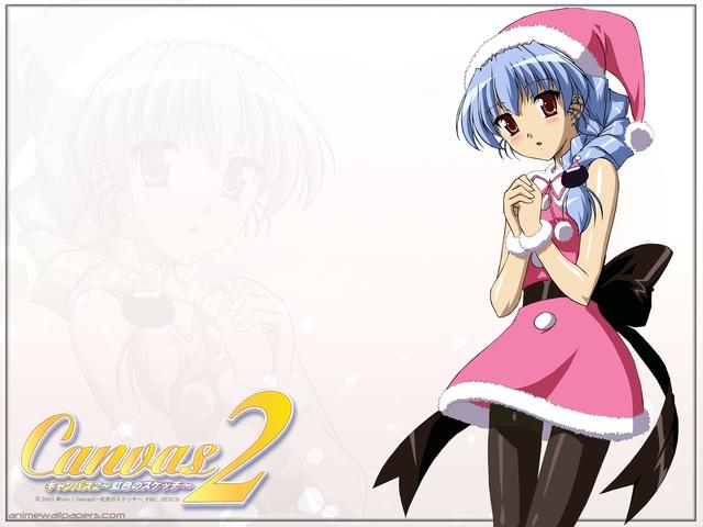 Canvas2 -Nijiiro no Sketch- Anime Wallpaper #3