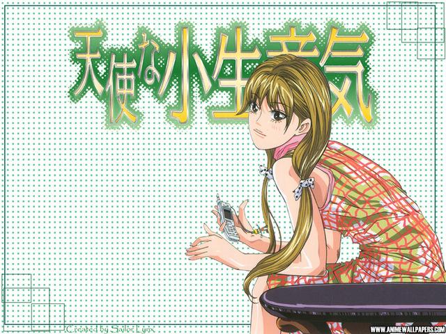 Cheeky Angel Anime Wallpaper #1