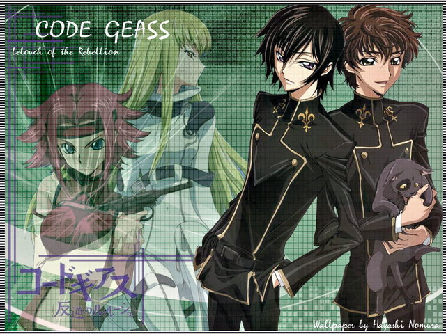 Code Geass Anime Wallpaper #1