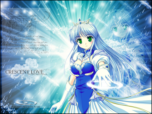 Crescent Love Anime Wallpaper #1