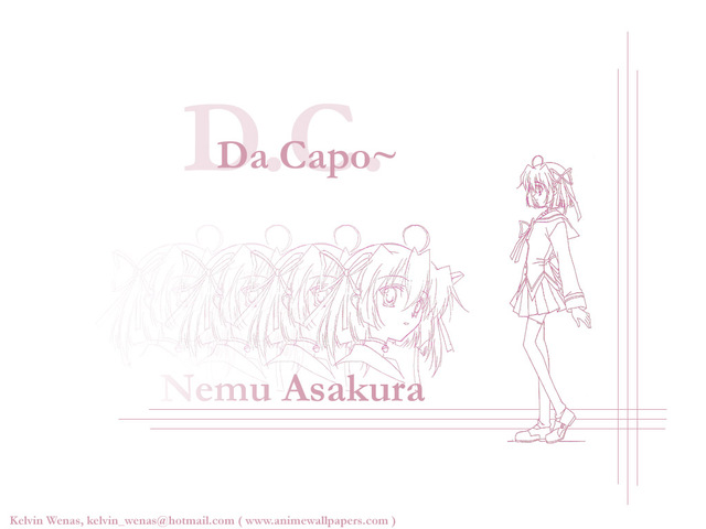 Da Capo Anime Wallpaper #1