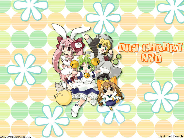 Digi Charat Anime Wallpaper #13