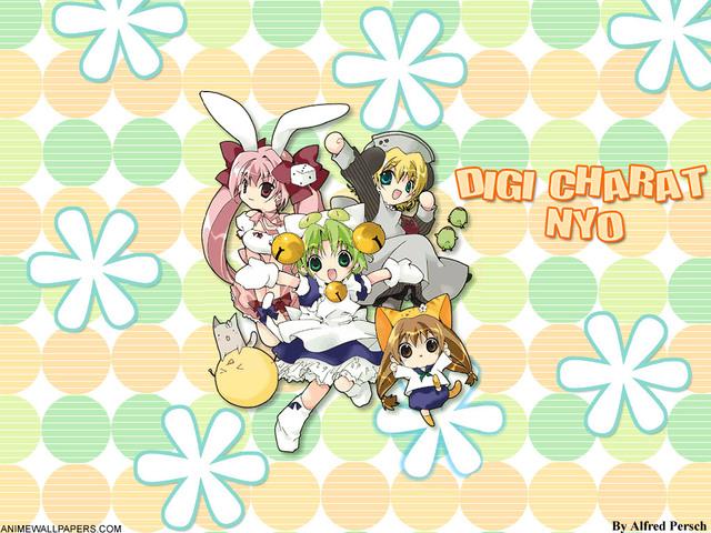 Digi Charat Anime Wallpaper #13