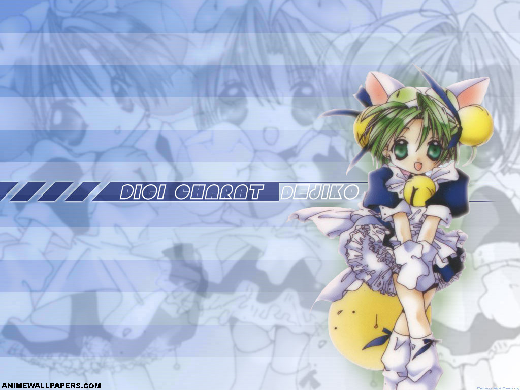 Digi Charat Anime Wallpaper # 3