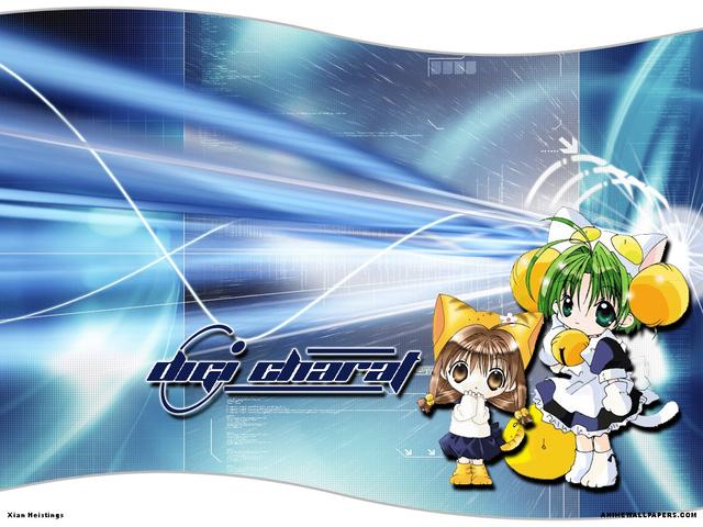Digi Charat Anime Wallpaper #8