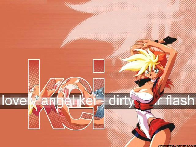 Dirty Pair Flash Anime Wallpaper #10