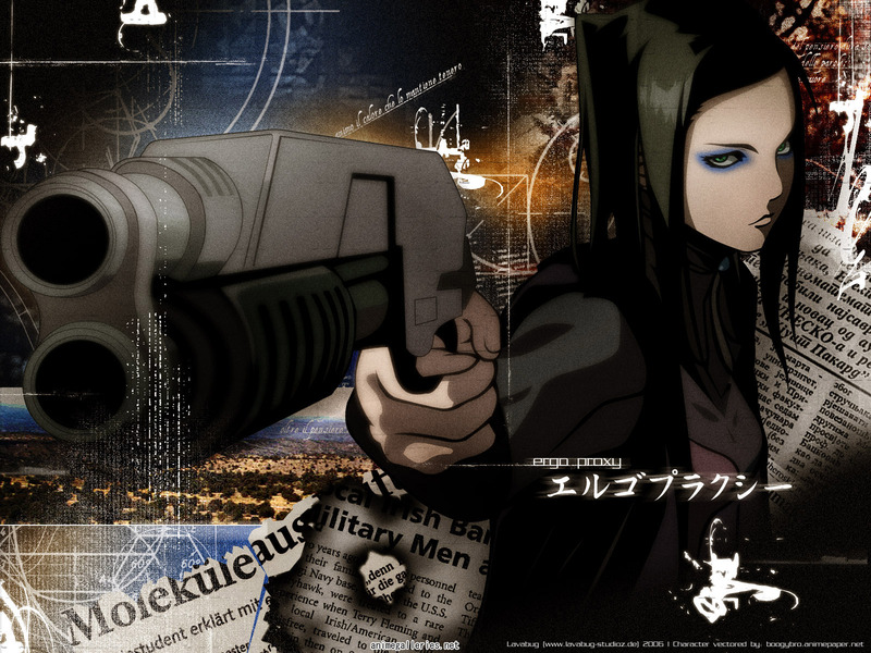 Ergo Proxy Anime Wallpaper # 9