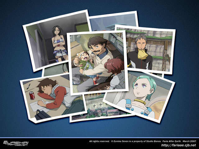 Eureka Seven Anime Wallpaper #1
