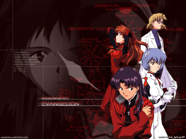 Neon Genesis Evangelion Anime Wallpaper #35