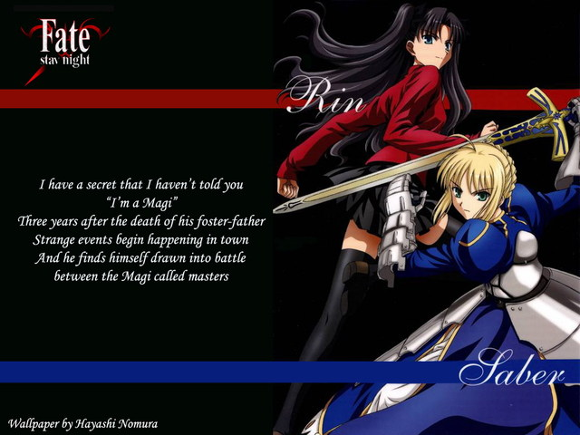 Fate/Stay Night Anime Wallpaper #8