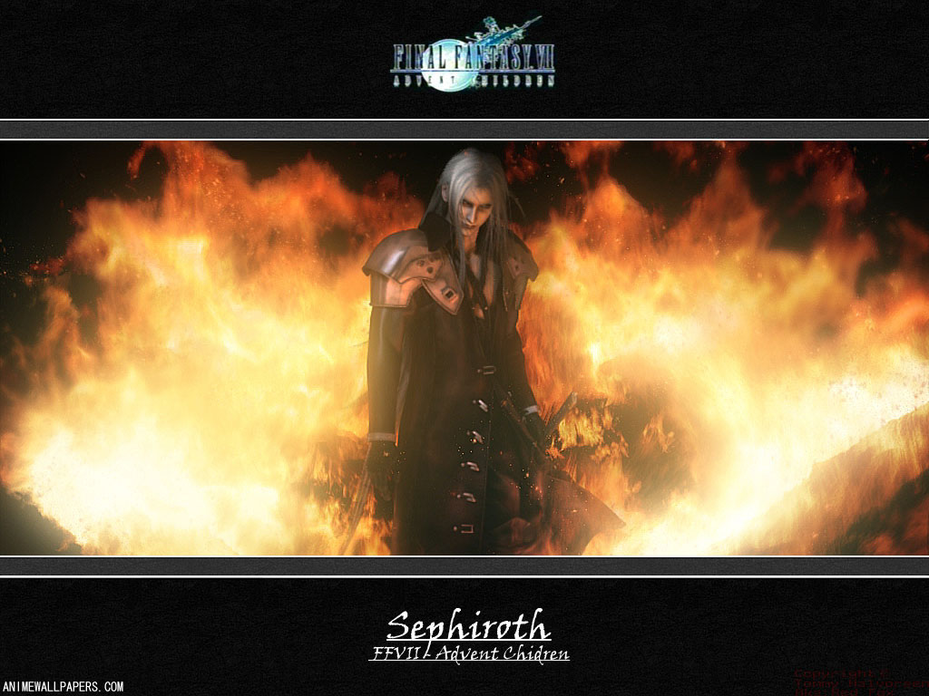 Final Fantasy VII: Advent Children Anime Wallpaper # 14