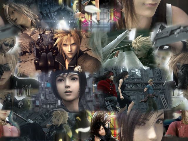 Final Fantasy VII: Advent Children Anime Wallpaper #1