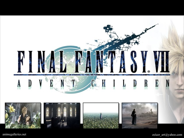 Final Fantasy VII: Advent Children Anime Wallpaper #27
