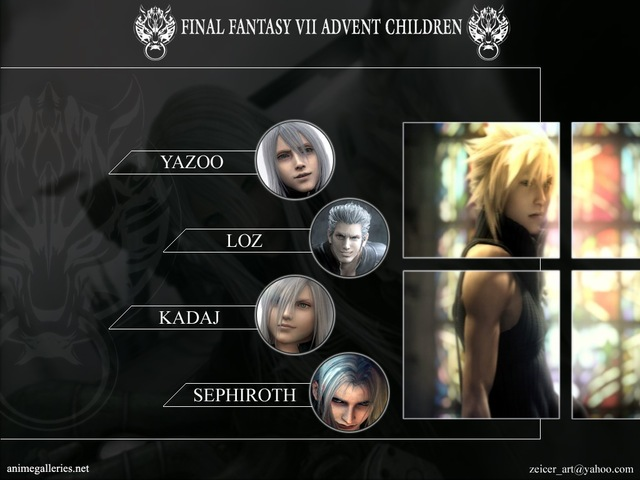 Final Fantasy VII: Advent Children Anime Wallpaper #29
