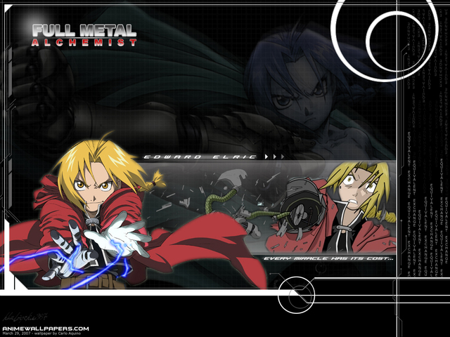 Fullmetal Alchemist Anime Wallpaper #2