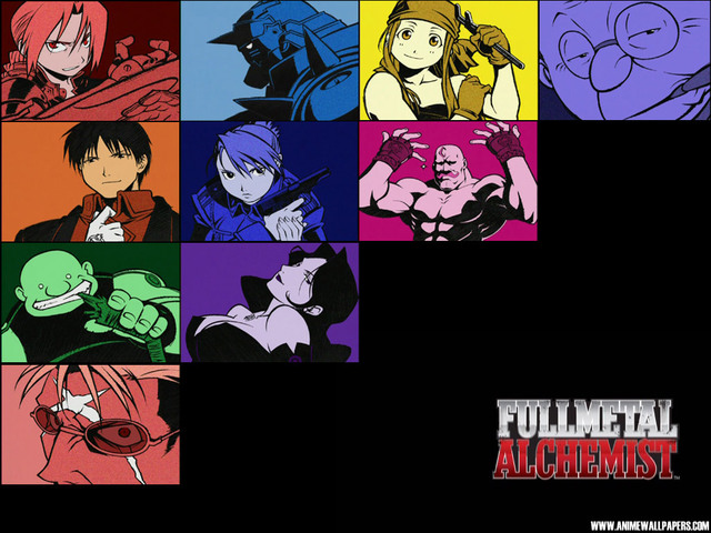 Fullmetal Alchemist Anime Wallpaper #4