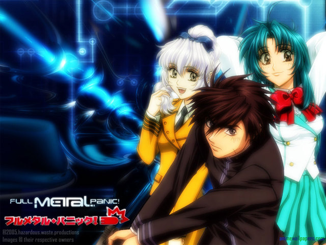 Full Metal Panic Anime Wallpaper #7