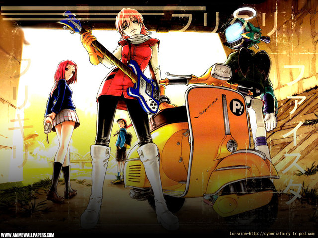 FLCL Anime Wallpaper #2